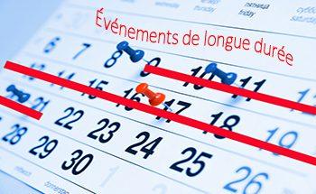 Permalink to:Évènements de longue durée